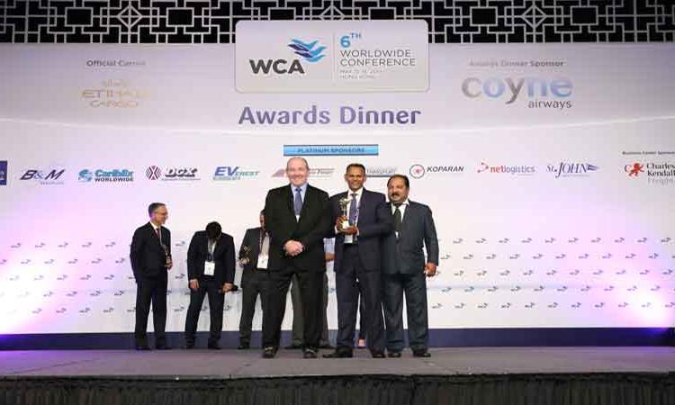 WCA BEST MIDDLE EAST AGENT AWARD – 2013